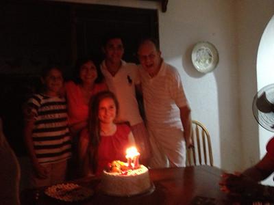 El cumpleaños de Shannon Leeman