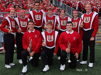 2013  Ranks and student staff of the Wisconsin Band