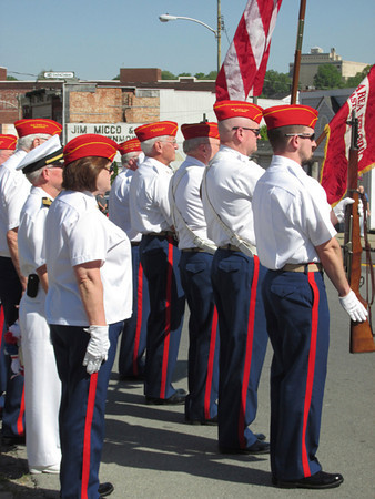 Members of the New Castle Area Veterans Honor Guard
