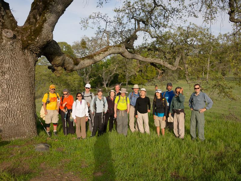 Group at Manzanita Pt.