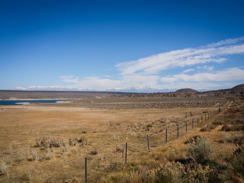 Lake Crowley valley