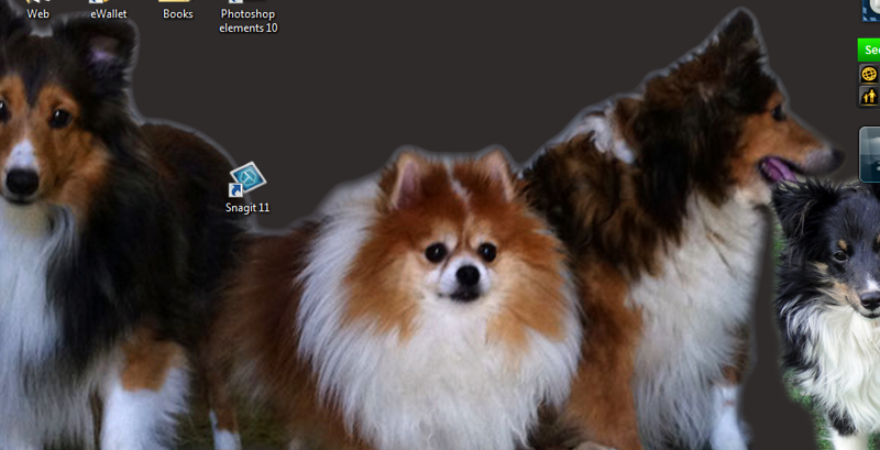 PC Home screen