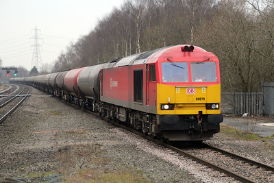 60079 1446/6E41 Westerleigh-Lindsey passes Water Orton.