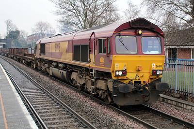 66188 1250/6v92 Corby-Margam passes Water Orton.