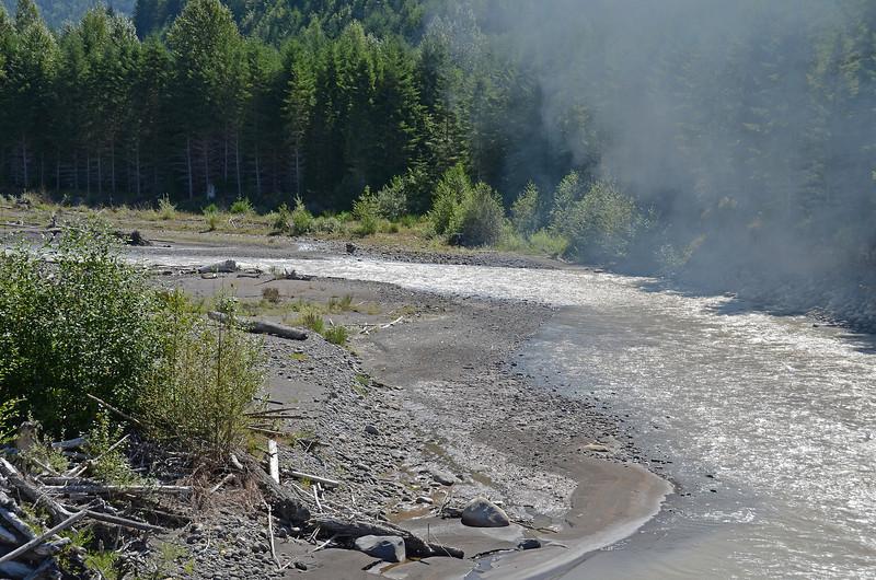 Nisqually R. - Mt. Rainier Scenic RR