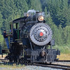 Our ride - Mt. Rainier Scenic RR