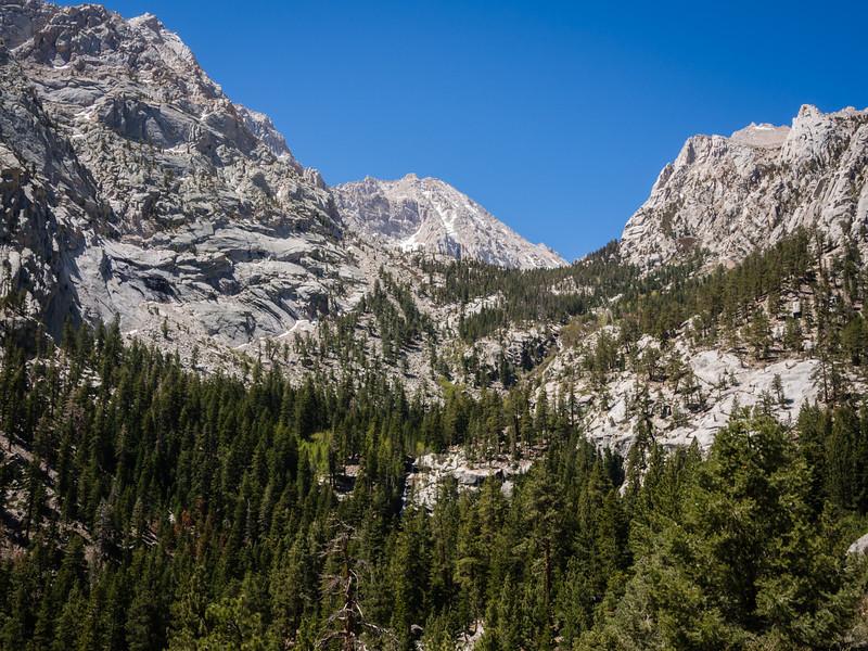 Upper Lone Pine creek