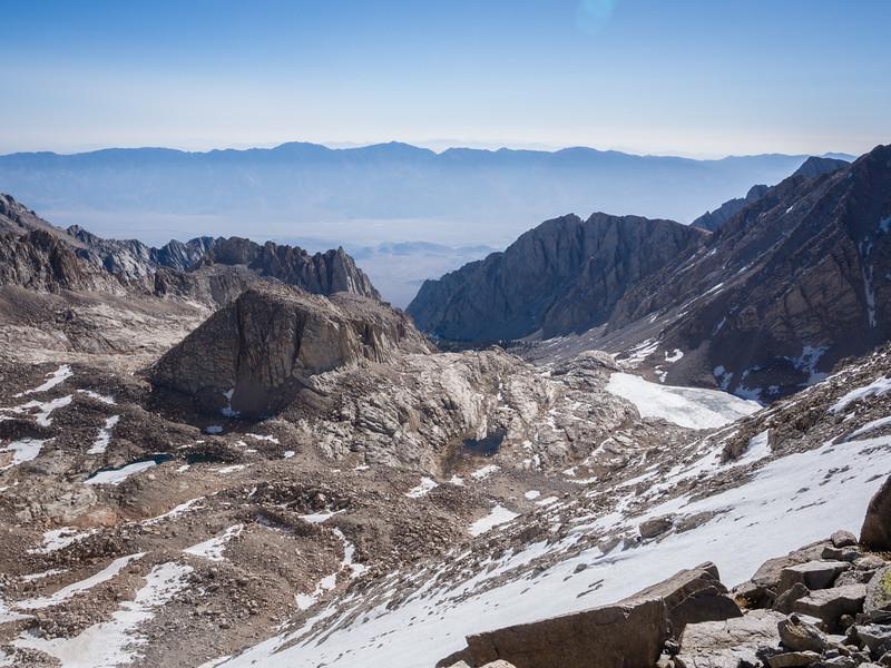 On steep slopes