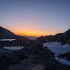 Trail Camp sunrise