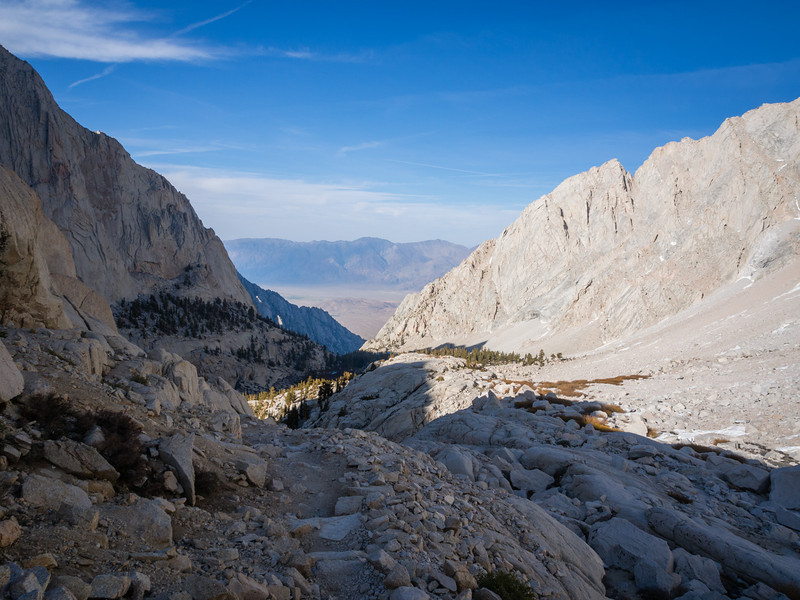 In the shadow of Mt. Whitney