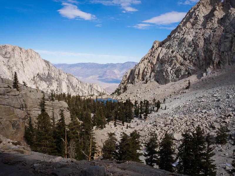 Above Lone Pine Lake