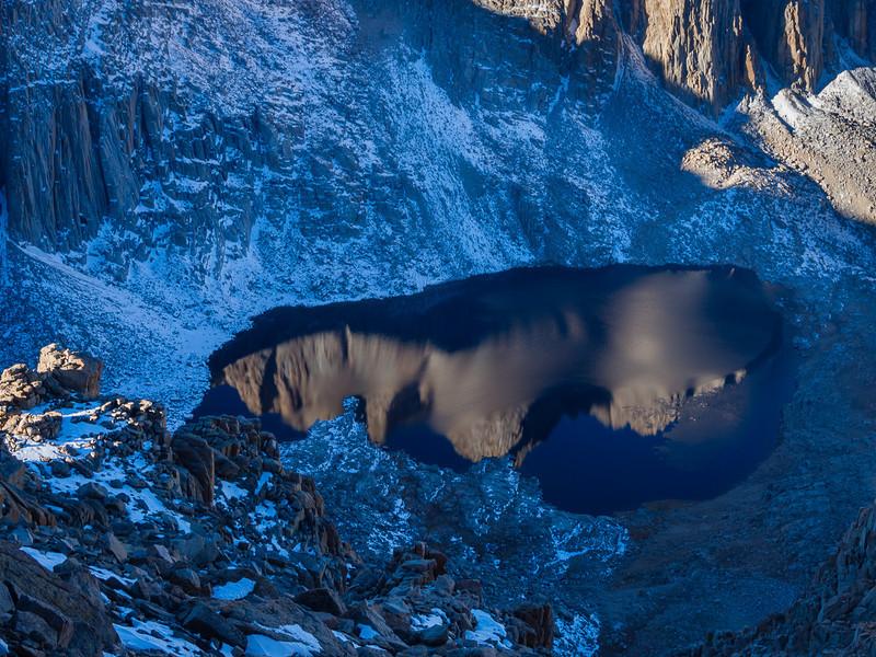 Frozen Hitchcock Lake