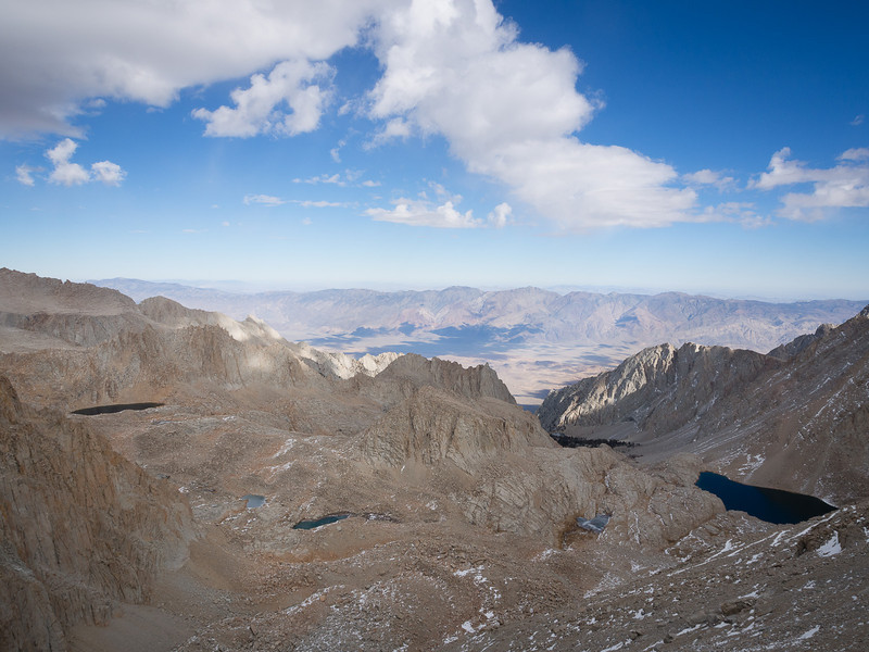 Clouds over the eastern Sierra