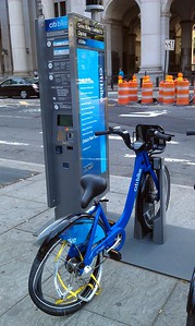 An early casualty of the new Citi Bike bikeshare system, which launched two weeks earlier