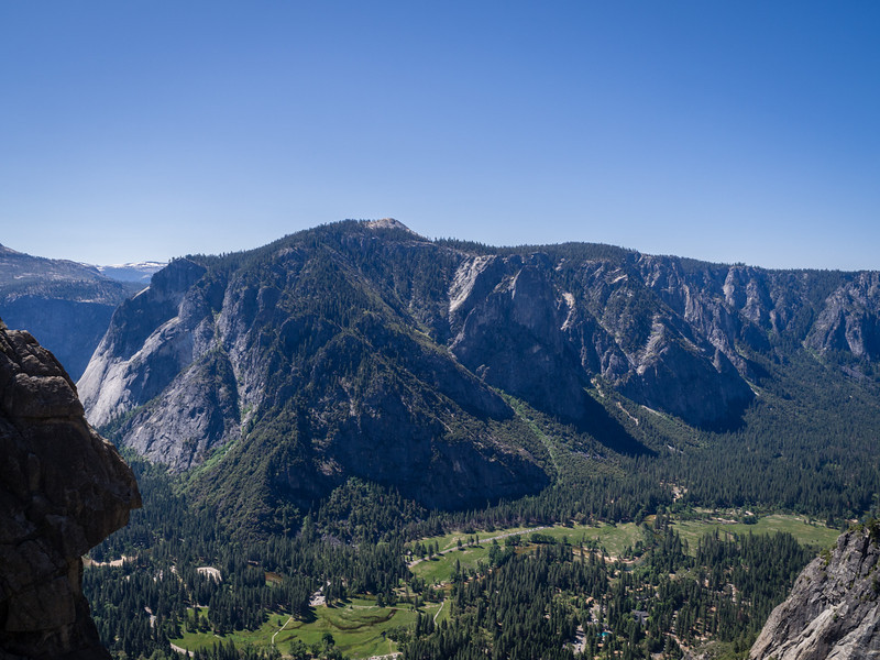 South side of Yosemite Valley