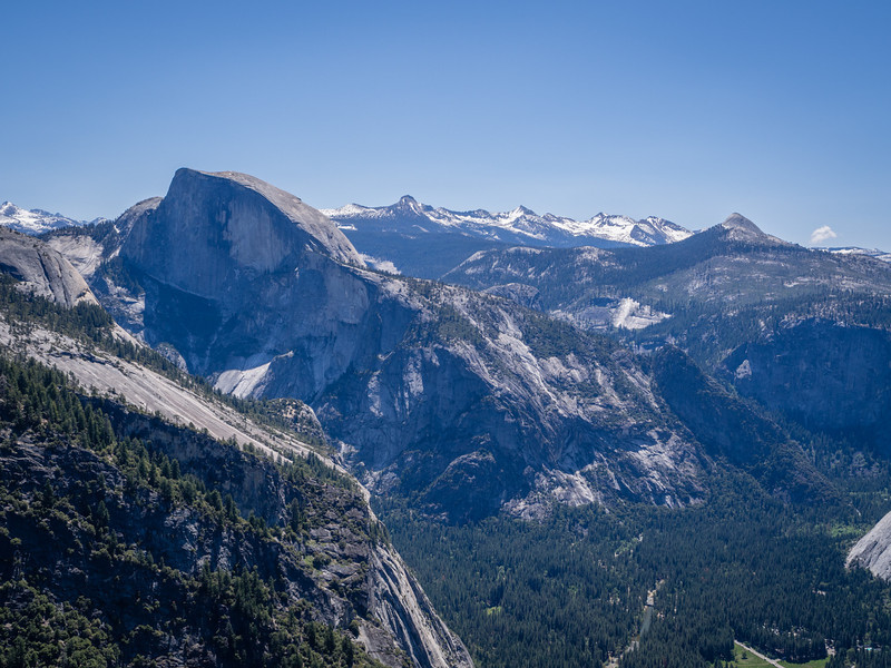 Half Dome and southern Yosemite