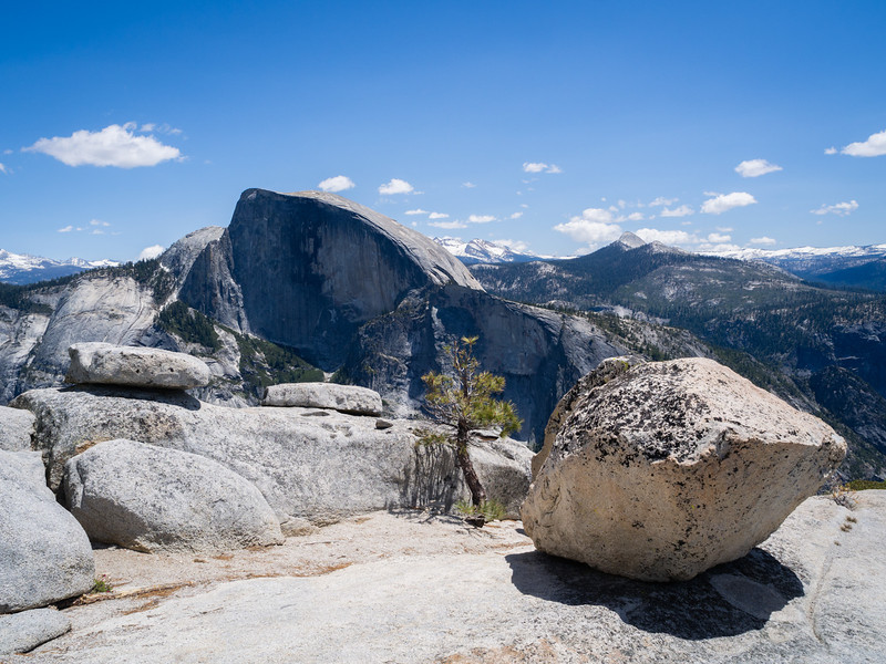 Half Dome from North Dome