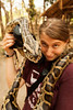 Our next stop after tigers was a snake show, exhibiting a number of different sizes and sorts of snakes from Burmese Pythons to King Cobras.
