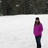Karen in the snow