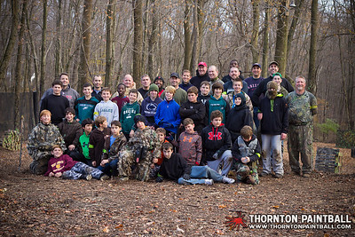 McCann & Montemuro Paintball Party III