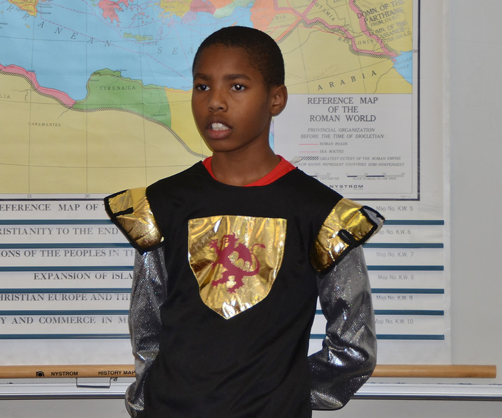 11/8/13 ICS 5th Grade Roman Feast