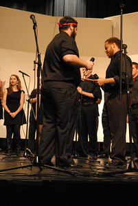 GWU AcaFelons perform in their fall concert.