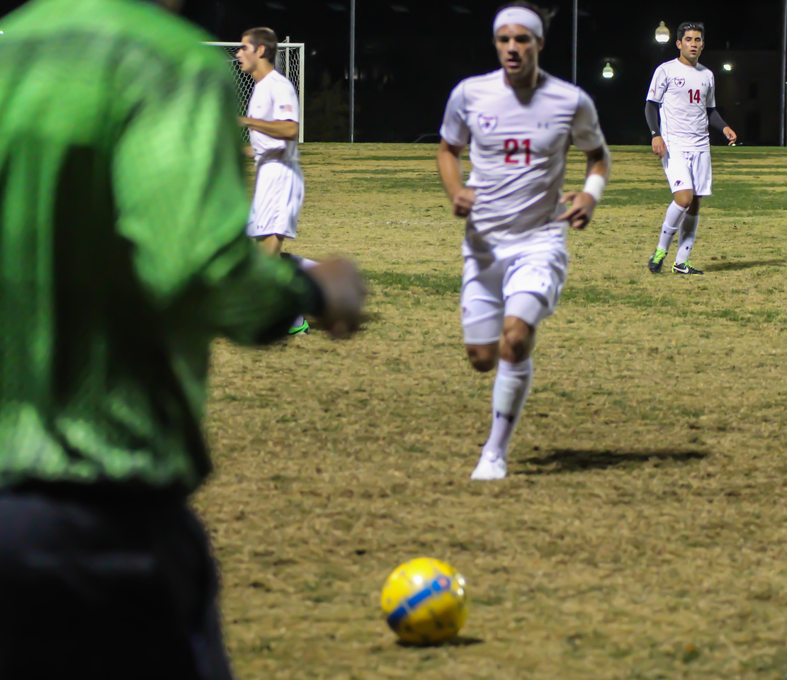 Men's Soccer vs. HPU, November 3, 2013