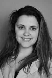 """Headshots for the theatre performance """"No Exit;"""" Fall 2013. Jocelyn Marker"""