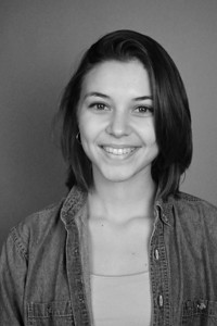 """Headshots for the theatre performance """"No Exit;"""" Fall 2013. Clarissa Miller."""