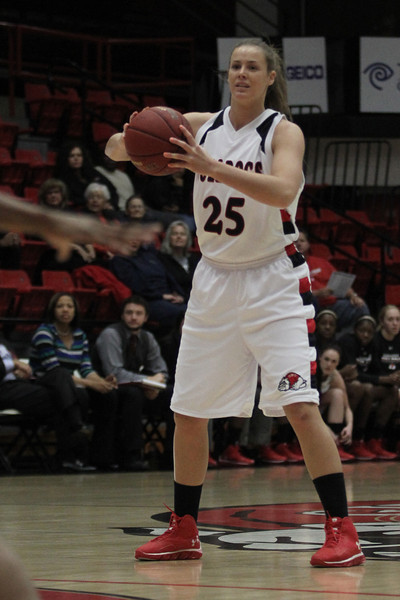 Women's Basketball dominated Montreat in the season opener Friday, November 8, 2013 with a score of 86-46