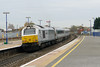 26 November 2013 :: 67014 draws away from Banbury powering 1H55 the 1312 from Birmingham Snow Hill to Marylebone
