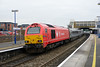 26 November 2013 :: Making a call at Banbury is 67018 with 1H53, the 12:55 from Birmingham Moor Street to Marylebone
