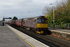 29 November 2013 :: 33029 heads the ECS which is working T&T with LMS Class 5MT 4-6-0 no 44871 as 5Z89 from Poole to Southall at Basingstoke