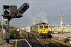 26 November 2013 :: Passing Didcot is 66571 powering 4L31 from Bristol to Felixstowe