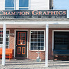 131114 3A Ent VIERA/STAFF PHOTOGRAPHER Wilson, NY-Champion Graphics owned and operated by Joyce Banagis, Sarah Humphre, and Thomas Banagis recently celebrated their one year aniversary on Thursday Nov 14th, 2013.