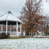 131112 3A Ent VIERA/STAFF PHOTOGRAPHER Lockport, NY- The Children Memorial Park covered by a light coat of the years first snowfall  on Tuesday Nov 12th, 2013.