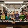 131112 Lego Robots VIERA/STAFF PHOTOGRAPHER Lockport, NY-Michaellean Brown (11), Katie Strobel (11), Faith Obot (11), Katie Miner (11), Ian Rickard (11), Luke Smeal (12), Sean Glenn (12), Kyle Huber (11), Ben Lagreca (11), and Kye Phelps (11) on Tuesday Nov 12th, 2013.