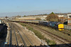 30 November 2013 :: 1Z42 from Whitchurch, Shropshire to Eastleigh via Portsmouth Harbour is led into Eastleigh Depot by 37405