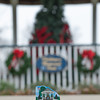 131121 Cat's Meow JOED VIERA/STAFF PHOTOGRAPHER Lockport, NY-A minature painting of Childrens Memorial Park stands in front of the park on Thursday Nov 21st, 2013.