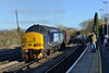 30 November 2013 :: 37261 on the rear of 1Z42 from Whitchurch, Shropshire to Eastleigh via Portsmouth Harbour at Salisbury with 37405 leading the train