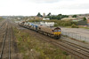 23 November 2013 :: 3S59 passing Severn Tunnel Junction led by 66125 with 66126 at the rear
