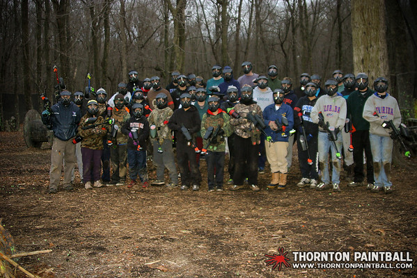 Jim Graham Memorial Paintball Game, Rekito Post Thanksgiving Family Game, & Logan Birthday Party