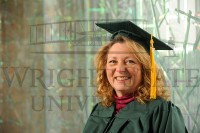12707 Debbie Garber for Fall Commencement story 11-25-13