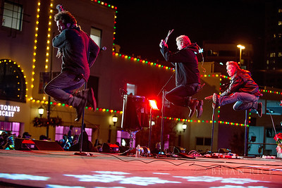 The Elders at the Plaza Lighting Ceremony 11.28.13