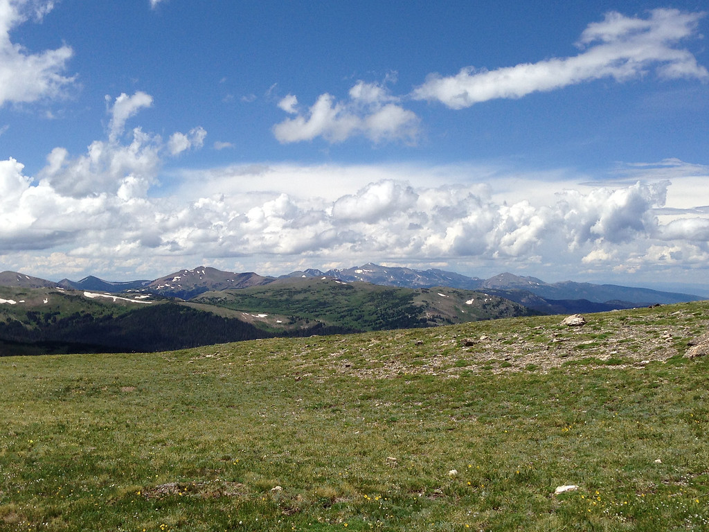View from the Alpine Center