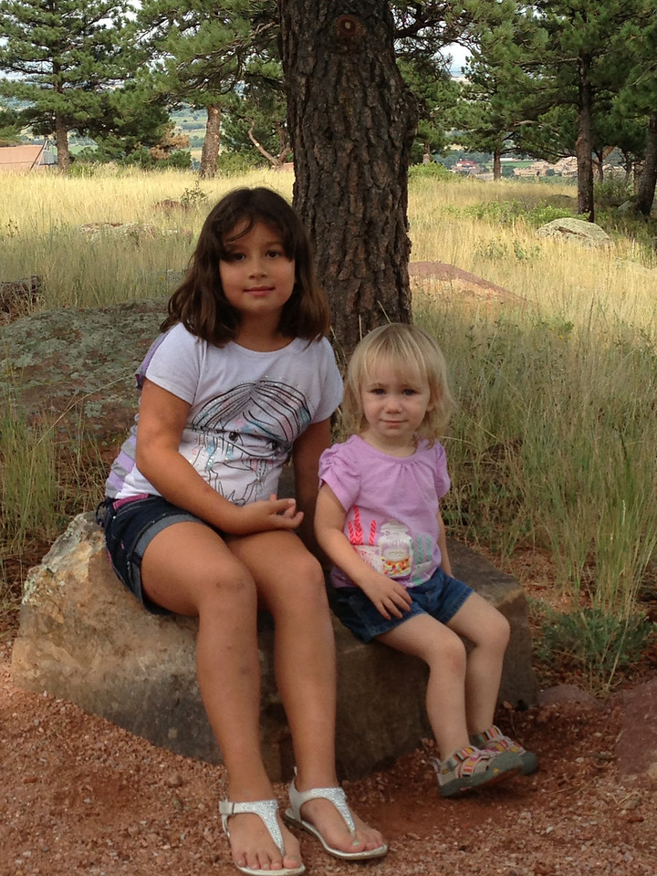 Kierah and Emma at NCAR