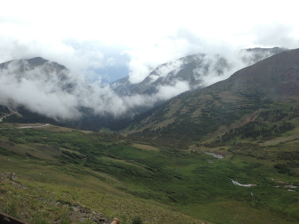 Clouds in the Alpine Center valley