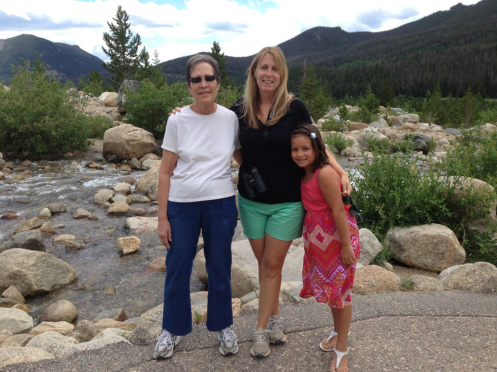Second visit to RMNP.  Here we are at the Alluvial Fan...an area created by a huge flood in 1978.