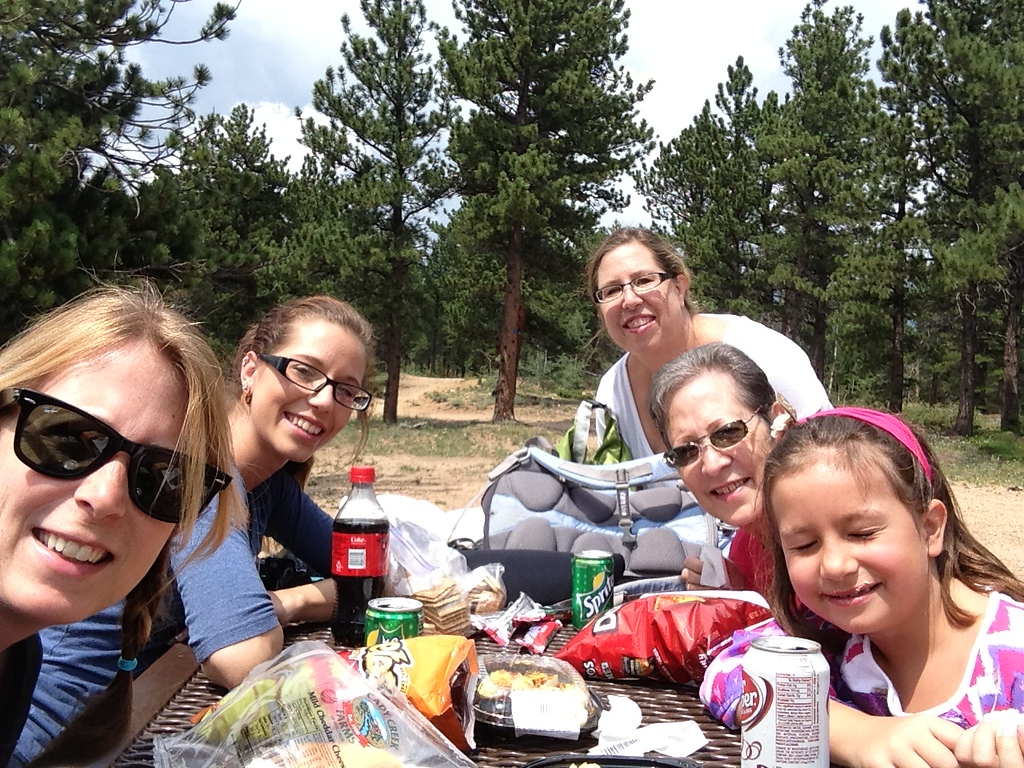 Picnic Lunch at Mud Lake
