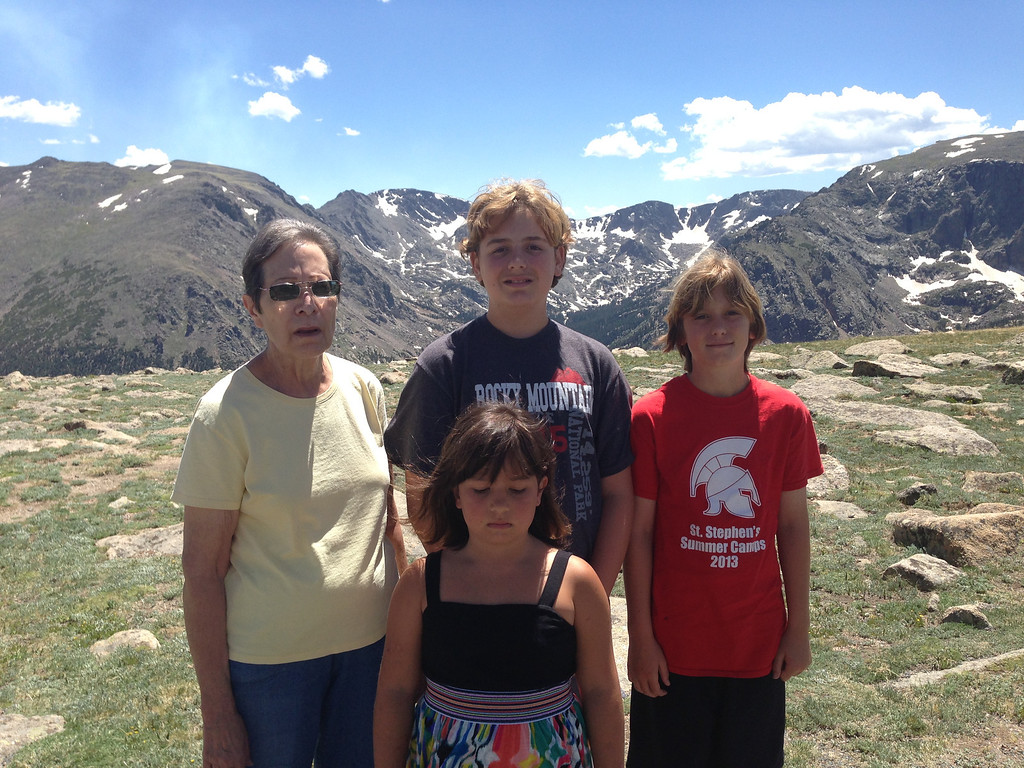Along Trail Ridge Road in RMNP...11,000 feet up.